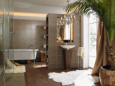 badfliesen f r jeden geschmack blumenwiese aus mosaik als. Black Bedroom Furniture Sets. Home Design Ideas