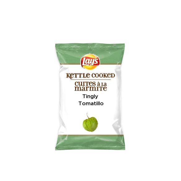 I just created Tingly tomatillo on Lay's Kettle Cooked for #DoUsAFlavourCanada. What's your flavour idea? Create the next great Lay's flavour & you could win† $50k + 1% of your flavour's future sales†† http://lays.ca/flavour