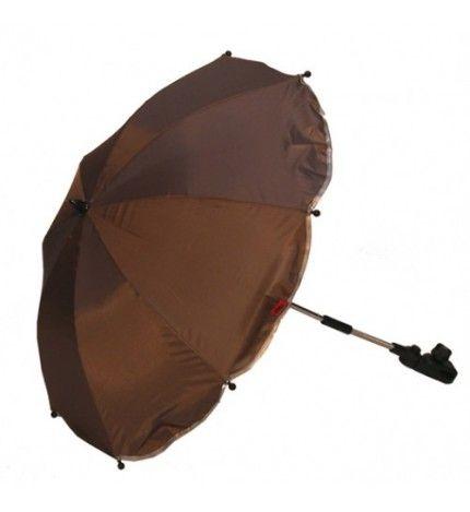 Parasolka do wózka z filtrem UV Kees szary