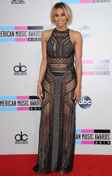 Ciara Photos - Red carpet arrivals at the 2013 American Music Awards at the Nokia Theatre L.A. Live in Los Angeles on November 24, 2013. Pictured: Ciara. - Arrivals at the American Music Awards