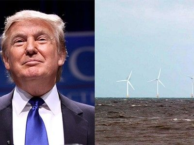 """Donald Trump Throws Tantrum Over Wind Power in Scotland""  I'm absolutely speechless, what a snob!"