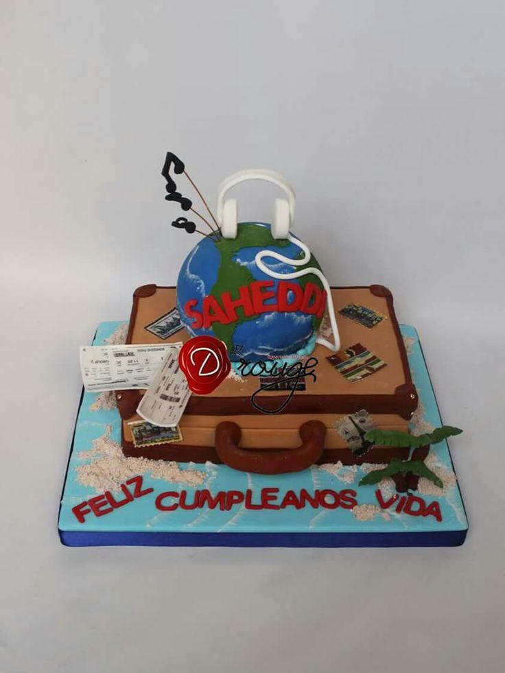 Torta Maleta viajero