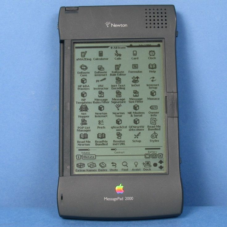 apple newton messagepad 2100 mp2100 with box keyboard and extras excellent cond