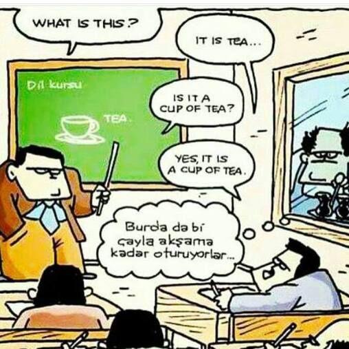 İşte herkesin anladığı kendine dedikleri şey bu... :) İşin komedi tarafından bakışı budur işte... #Caricature #Karikatür