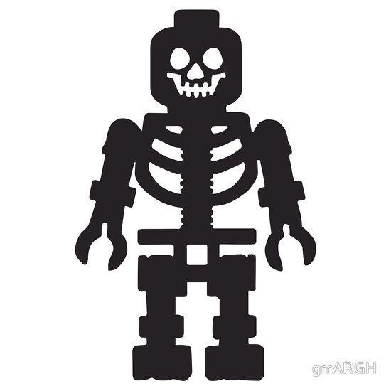 Lego Skeleton - Black by grrARGH