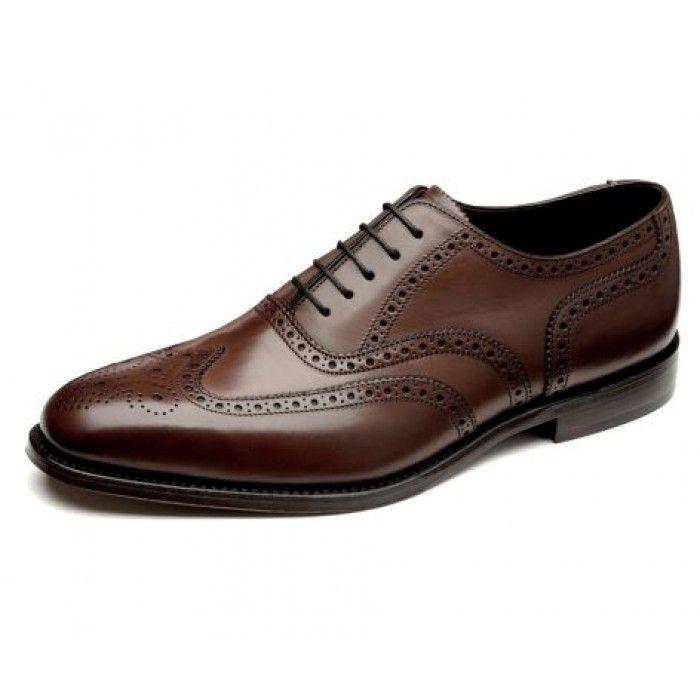 Loake Buckingham dark brown shoes