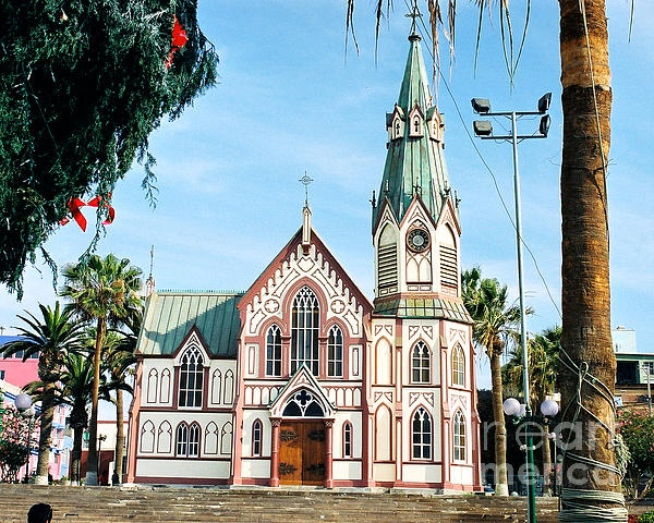 Eiffel Church Arica Chile