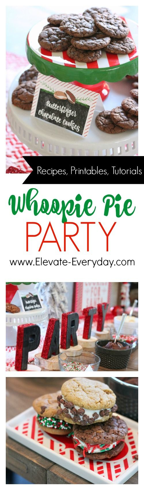 Whoopie Pie Party #BakeHolidayGoodness Ad