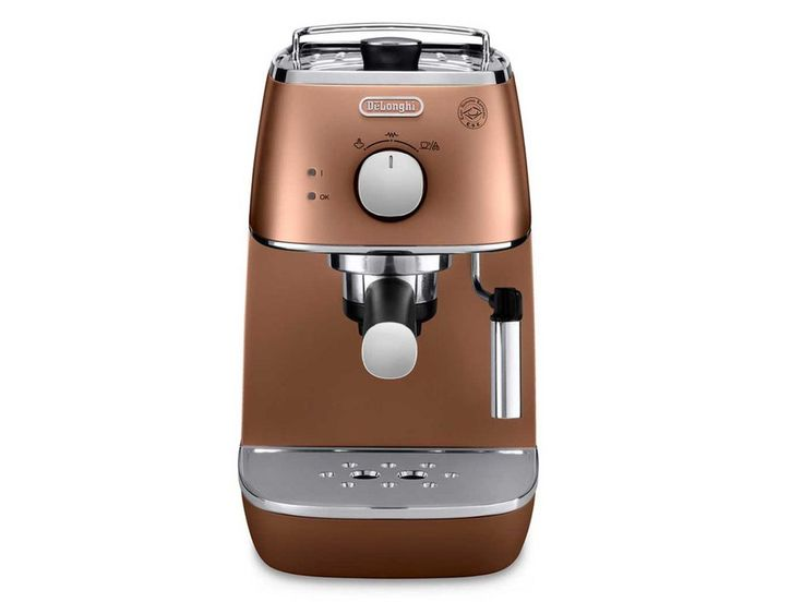 De'Longhi ECI341.BK Distinta Manual Coffee Machine (Black)