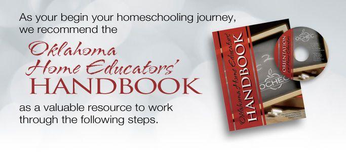 Oklahoma Home Educators Handbook- available at Mardel