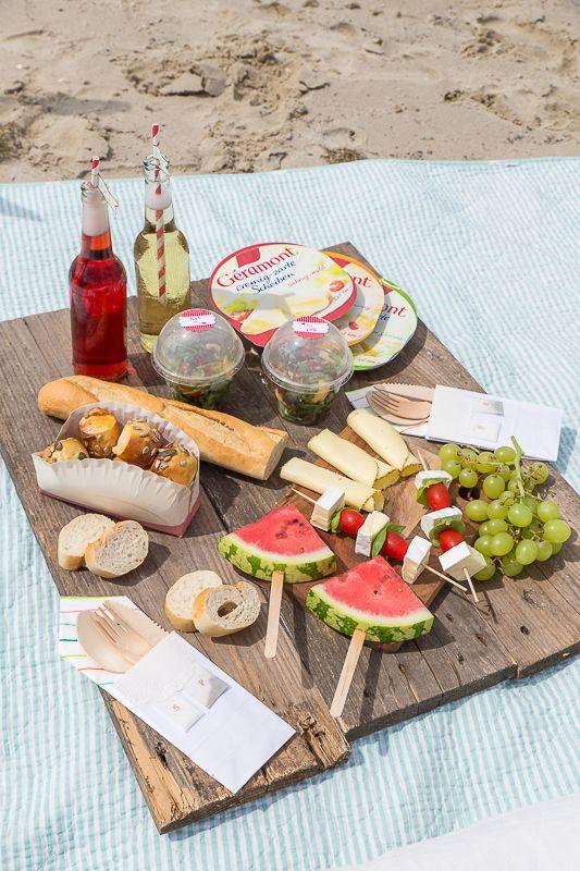 die besten 25 essen f r picknick am strand ideen auf. Black Bedroom Furniture Sets. Home Design Ideas