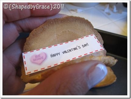 personalized fortune cookies...no baking!