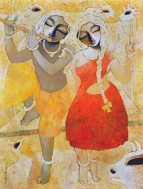 Mithu Basu: Dolna recommends a great way to stART each day. Click for more information on artist Subrata Ghosh and details of his works.