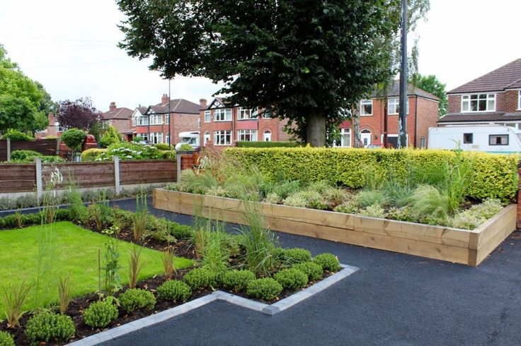 Front Garden Makeover - from Grey to Green with parking and full access