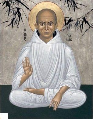 Thomas Merton as a Byzantine Icon