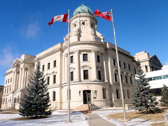 Winnipeg, Manitoba Beaux Arts law courts building.