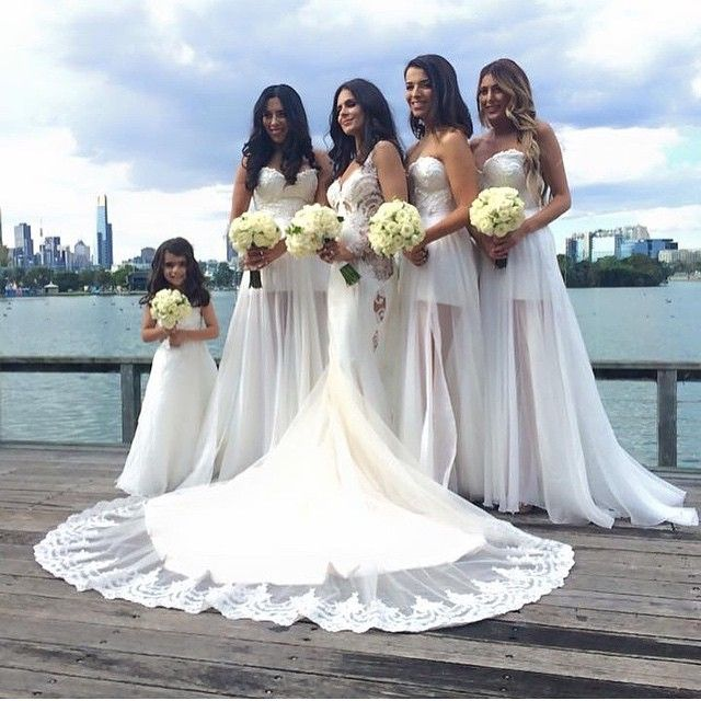 The 136 best Bridesmaids images on Pinterest | Flower girls ...