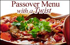 Different passover recipes