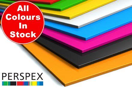 Colour Perspex Sheet