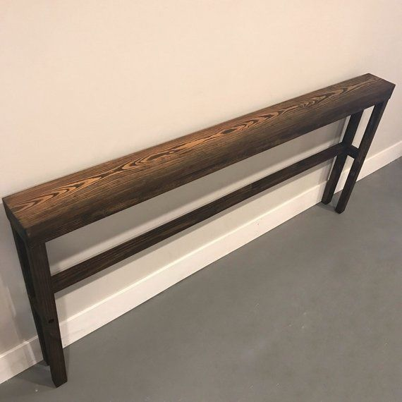 Console Table Sofa Behind