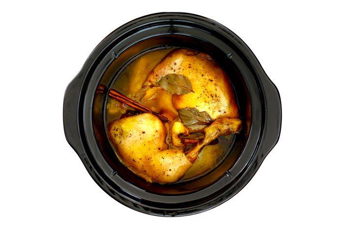 Crockpotting | Coronation chicken en crock pot | http://www.crockpotting.es #crockpotting #slowcooking #recetas #crockpot #slowcooker #ollalenta #pollo #coronationchicken