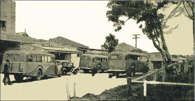 A rare look at the early days of Brunswick Heads ~ Pic from Frank Mills ~