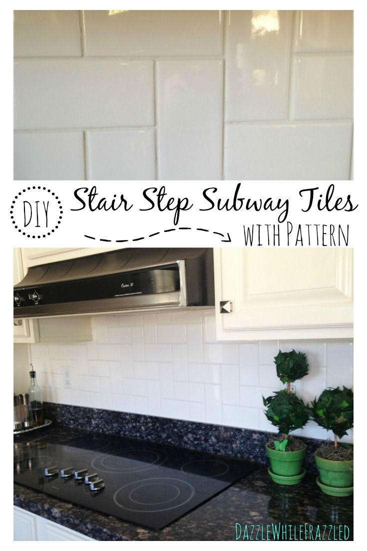 Best 25 subway tile patterns ideas on pinterest tile layout shower tile patterns and - Design your own backsplash ...