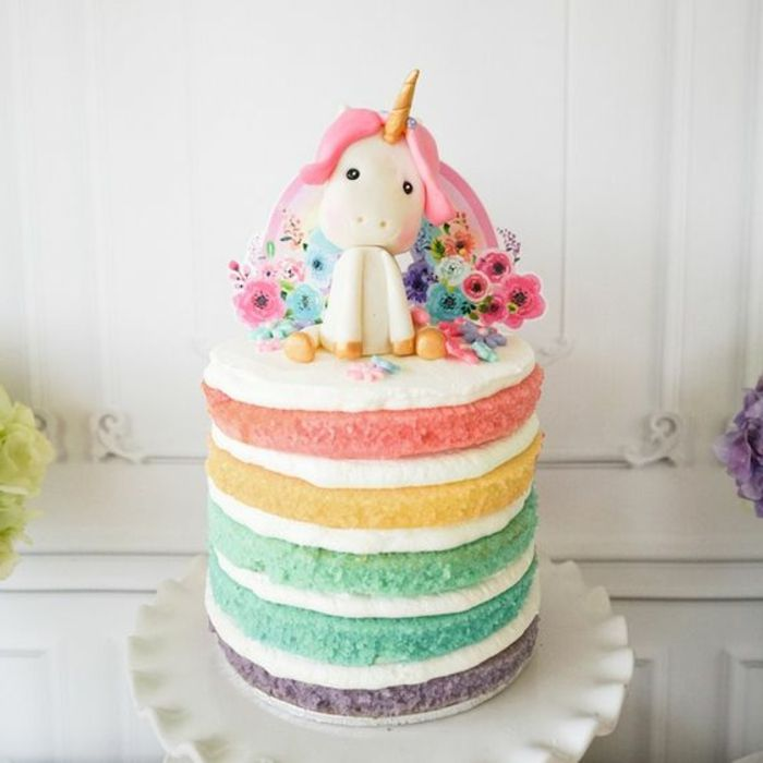 1001+ Ideen für einzigartige Einhorn Kuchen und Torten