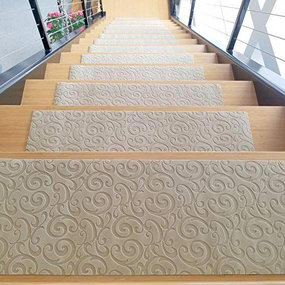 Designer Indoor Stair Mats Ultra Thin Microfiber Stair