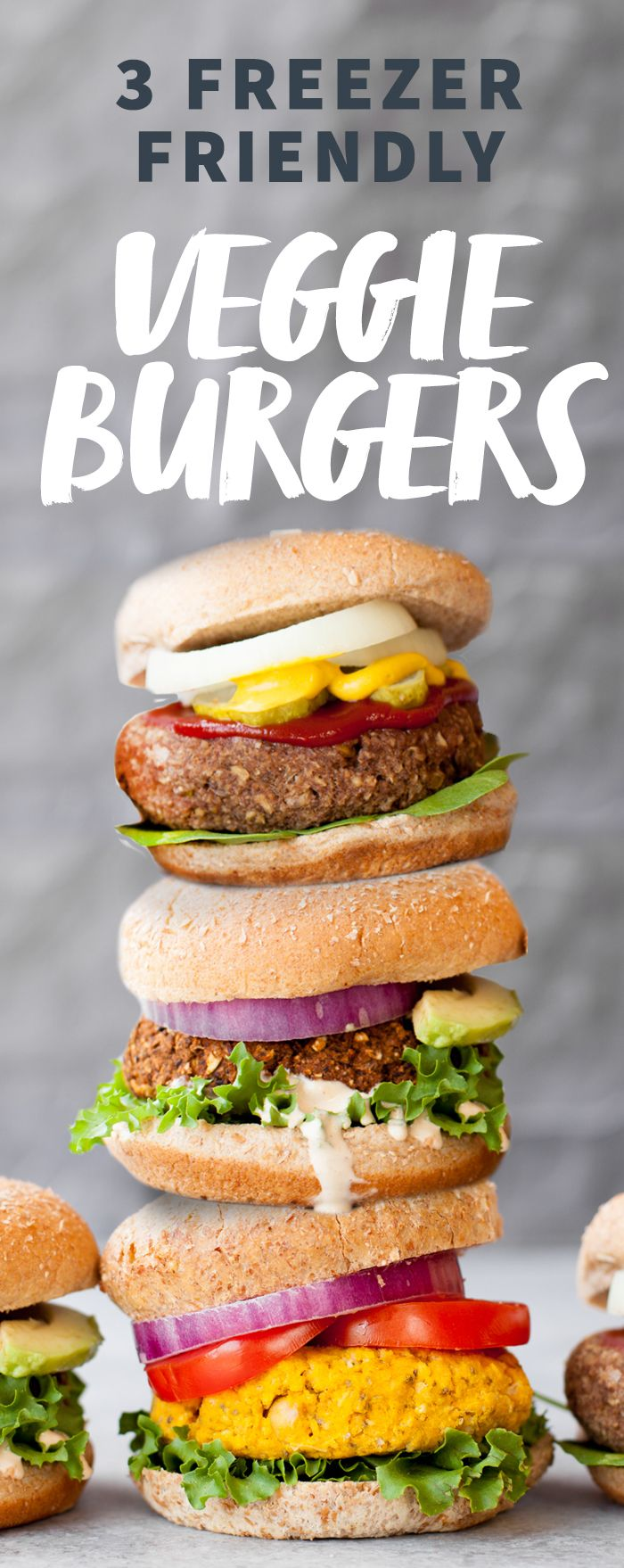 Stock Your Freezer with These 3 Awesome Veggie Burgers #ad