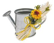 Cute wedding favors or use larger for centerpiece :)