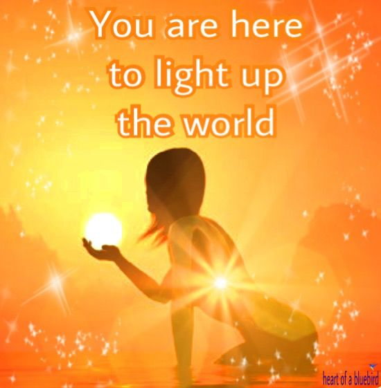 shine your light ...