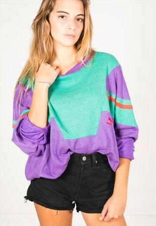 Vintage+90s+Puma+sweatshirt/+R137
