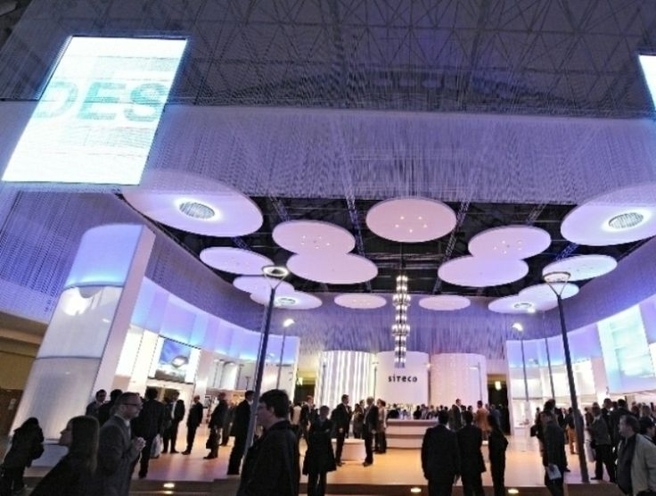 Крупнейшая международная выставка архитектуры и осветительной техники: Light + Building 2014 винтажные торшеры, современное освещение, уникальные светильники,  лампы stilnovo, настольные лампы, винтажные настольные лампы, лампы бра, настенные бра