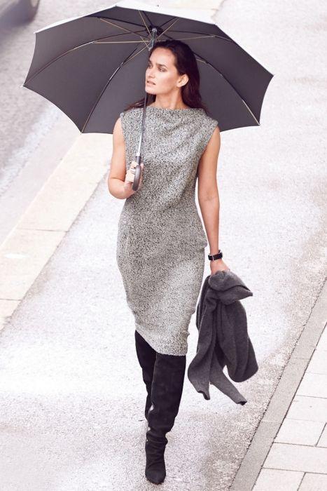 Как сшить платье с волнообразным вырезом горловины