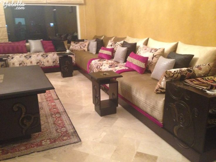 Best 12 Salon Marocain images on Pinterest | Moroccan living rooms ...