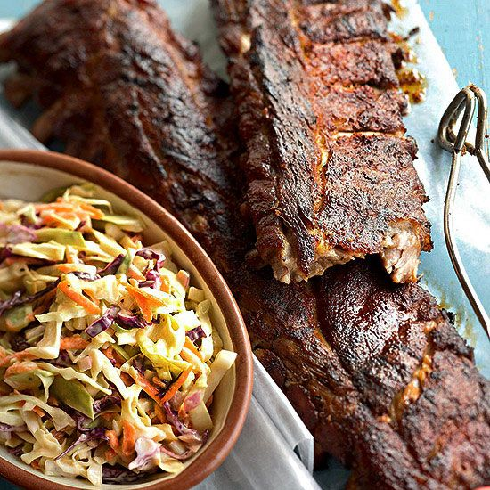 A zesty nine-spice rub takes these Memphis Dry Ribs to a whole new level! More recipes: http://www.bhg.com/holidays/july-4th/recipes/4th-july-recipes/?socsrc=bhgpin070113dryribs=15