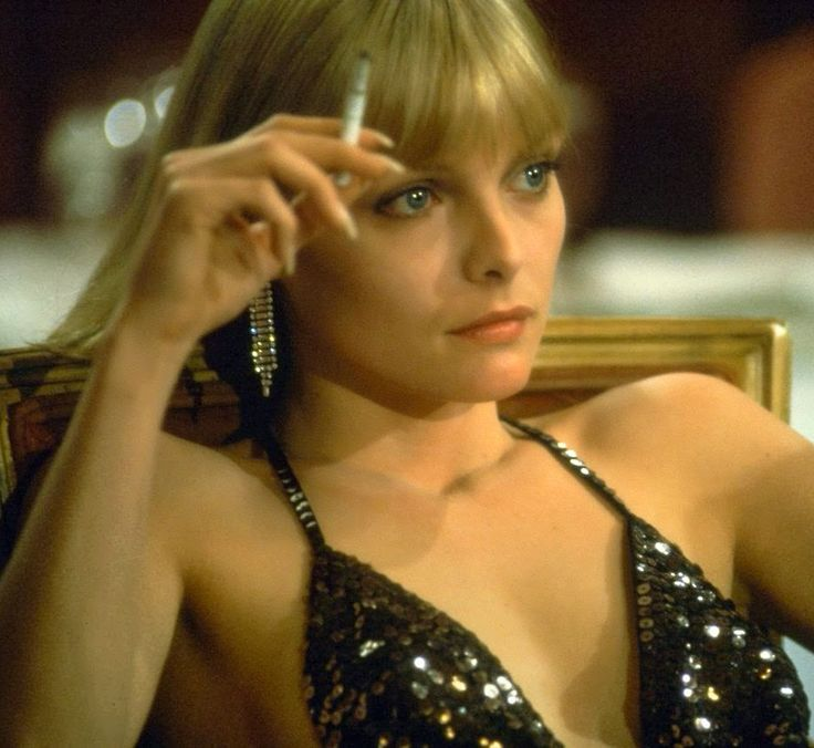Michelle Pfeiffer as Elvira in the movie: Scarface