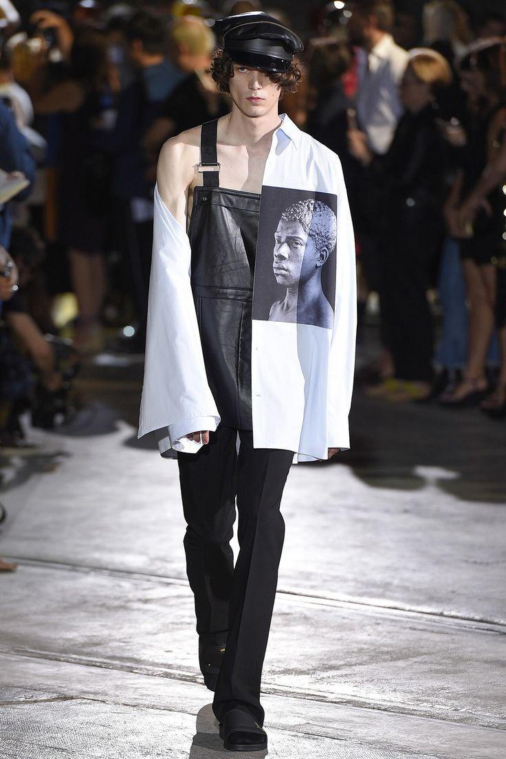 raf simons - spring 2017 menswear