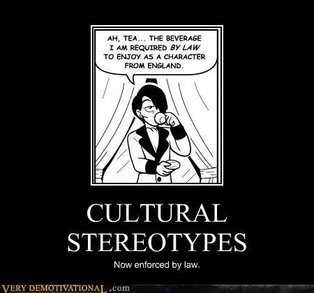 "culture stereotypes What is a stereotype stereotypes that i am aware of are cultural, groups of individuals, sexual stereotypes, and men vs women ""the definition of a stereotype."