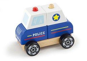 VIGA Jucării - stivuire mașină de poliție