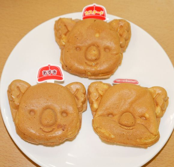 世界で唯一! コアラのマーチ型の大判焼き「コアラのマーチ焼」が東京・中野に登場 /まさかの行列に