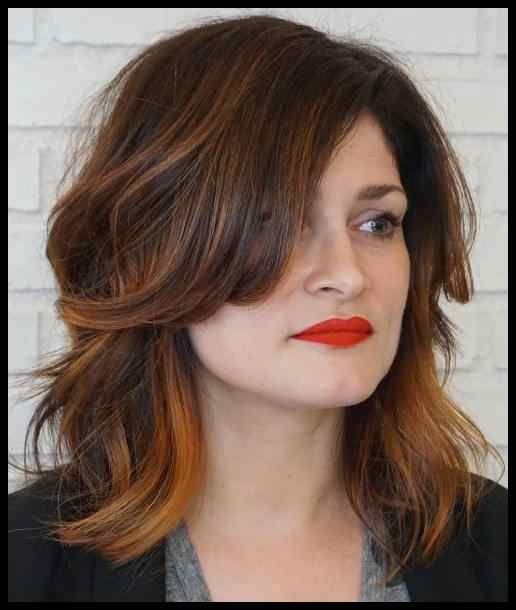 50 best hairstyles for square faces around the angle … | Hairstyles Tutorials