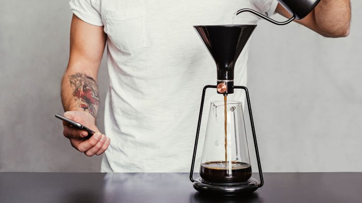 17 Modern Coffee Makers That You'll Want To Show Off // The GINA smart coffee maker combines coffee and technology to make sure you get the perfect cup of coffee every single time.