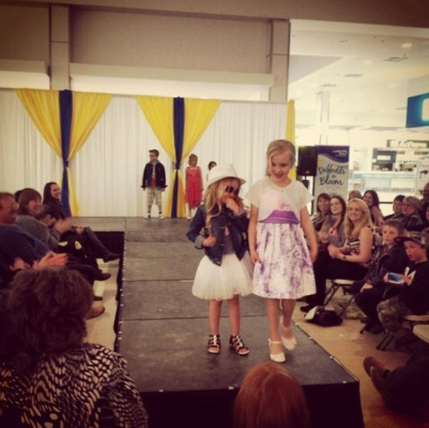 These little ladies rocked it at the #DIBLM Fashion Show yesterday! Aren't they adorable?  #Sarnia #SLont
