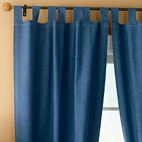 I will have denim curtains in my living room!!! And yes they will look classy when I'm through :P