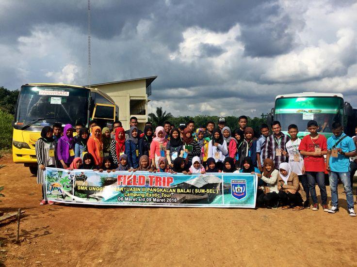 Keberangkatan  Wisata Edukasi  SMK Unggulan Banyuasin Sum-Sel