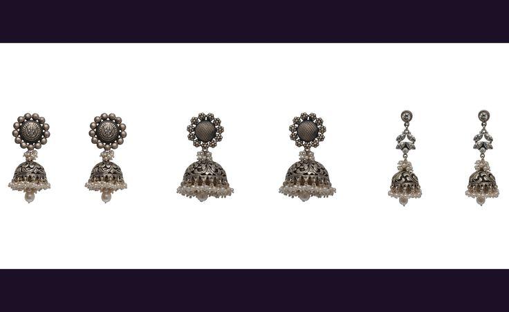 #Ethnic #Jewellery #RockThisLookWithZoyashi #ethnicwear #IndianJewellery #Silver #love