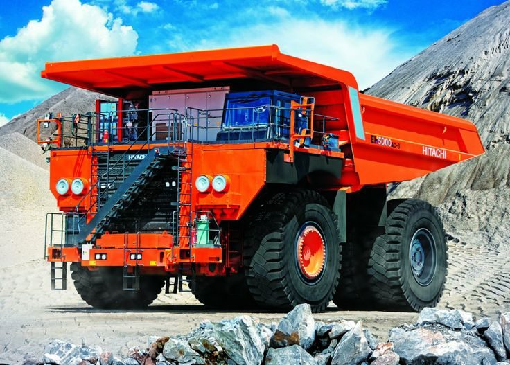 Hitachi launches its largest dump truck [Equipment World]