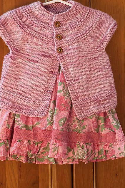 Ravelry: coloradoknitters Pink Tunic Knitting For Babies Pinterest ...
